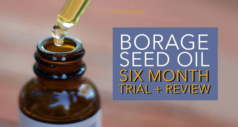 Borage seed oil six month trial and review