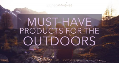 Must-have products for the outdoors