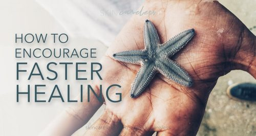 How to encourage faster healing