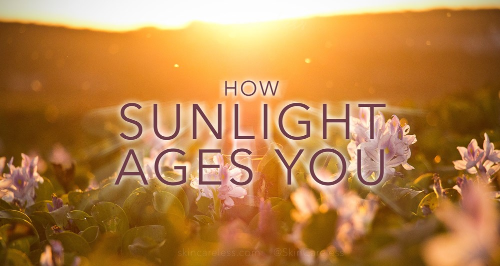 How sunlight ages you