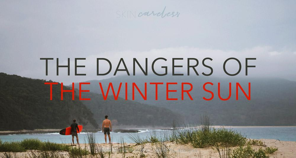 The dangers of the winter sun